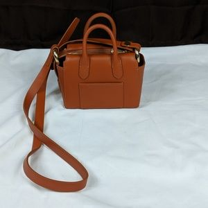 NWT J. Crew Harper satchel leather crossbody bag